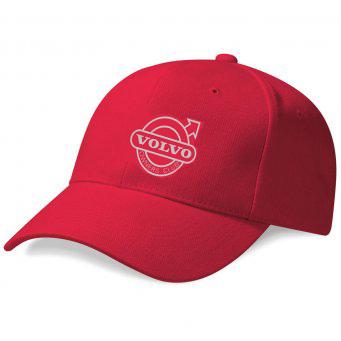 047fb328611eba RED VOC EMBROIDERED BASEBALL CAP - voc merchandise
