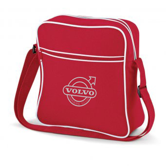 RED VOC EMBROIDERED FLIGHT BAG