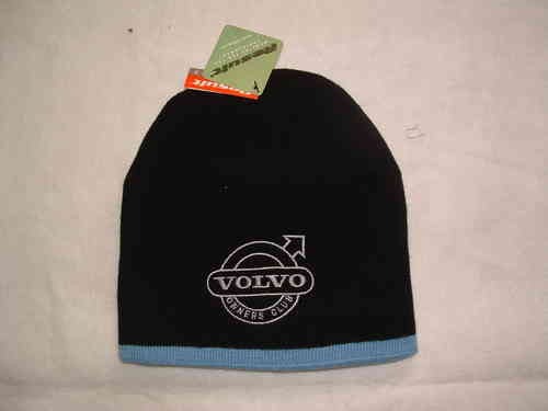 BLACK VOC EMBROIDERED BEANIE HAT
